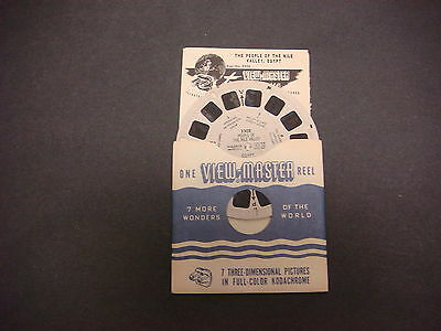 Sawyer's Viewmaster Reel,Travelogue,1950,People Of The Nile Valley,Egypt,3308