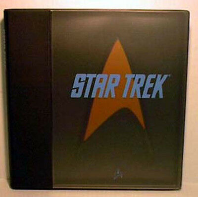 Star Trek:Classic Series Media Kit/Promo Pack w Deluxe Notebook Cover(EDDV-2251)
