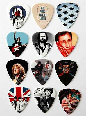 The Who Guitar Picks - Packet of 12 Different Plectrums