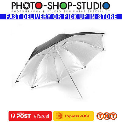 "Godox Photography Studio Brollie Umbrella 40"" Black & Silver #UB-002-40"
