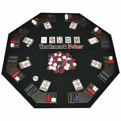 Texas Traveler - Texas Holdem Table Top & 300 Chip Set