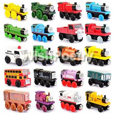 Wooden &Handcrafted Toys Train Thomas & His Friends Tank Engine & Carriages Toys