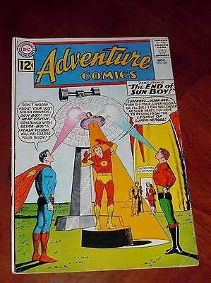 ADVENTURE COMICS #302 (1962) VG+ cond (4.5)  LEGION of SUPER-HEROES