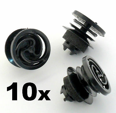 10x Seat Interior Door Card and Trim Panel Mounting Clip / Fastener