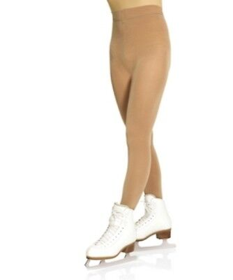 New Mondor 3360 PERFORMANCE Thick Footed Ice Skating Tights- Child & Adult Sizes