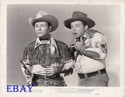 Roy Rogers Heart Of The Rockies VINTAGE Photo