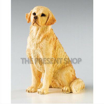 Country Artists *golden Retriever Sitting* Bnib 01097 Rrp: £8.95!
