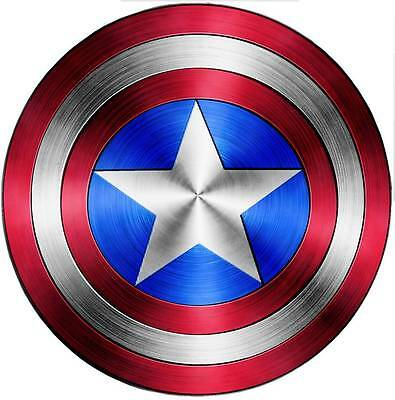 CAPTAIN AMERICA SHIELD Avengers Decal Removable WALL STICKER Home Decor Art Logo