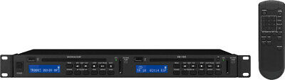 img Stage Line CD-122 Dual Player CD / MP3 / USB / SD + MMC-Card