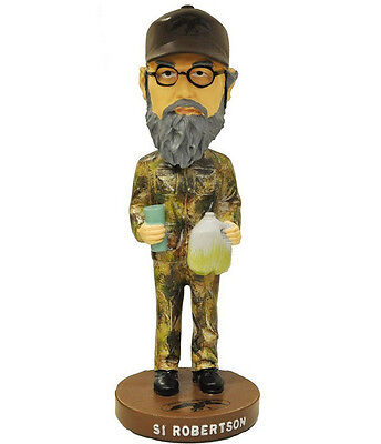 Si Robertson Duck Commander Dynasty Collectible Resin Bobblehead Bobble Head