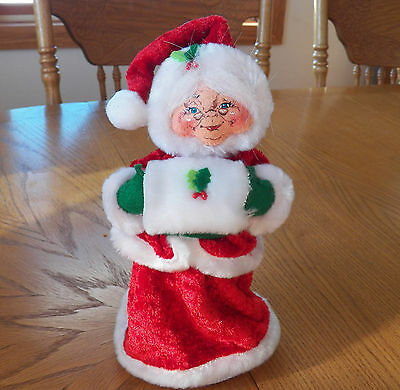 "NWT 2012 Annalee Christmas Doll - 9"" Cozy Mrs Claus"