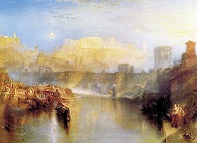 Ancient Rome Agrippina lands with the ashes of Germanicus by Turner Repro Canvas