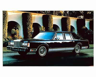1985 Lincoln Town Car Photo Poster zc9870
