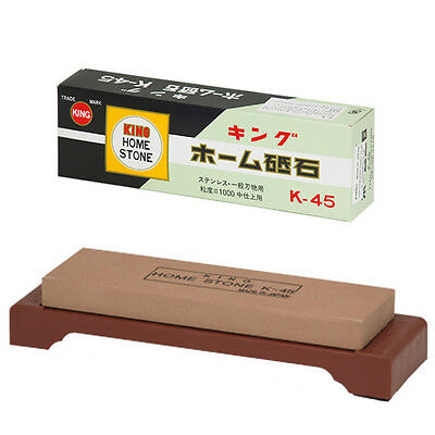 Japanese 1000 Grit Whetstone King Sharpening Whetstone Sharpener with Base
