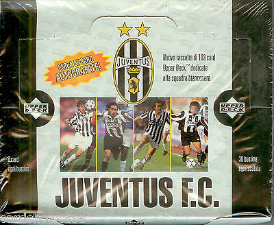 1998 Upper Deck Juventus F. C Trading Card Box (30)