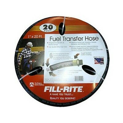 "Tuthill Fill Rite FRH10020 Fuel Pump Hose 1"" x 20' fits 12 Volt and AC Products"