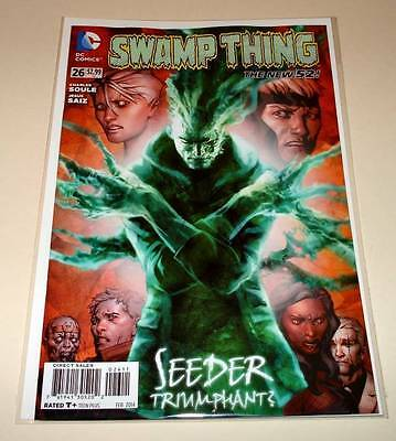 SWAMP THING # 26  DC Comic   Feb 2014   NM  The New 52!