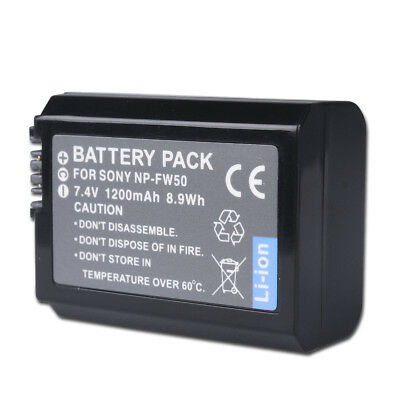 NP-FW50 Battery For Sony α6 ILCE-7SM2 ILCE-6000 α7R II α7 A7S A3000 A5000 A6000