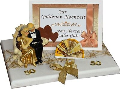 geschenk goldene hochzeit urkunde zum 50 hochzeitstag in gold goldhochzeit eur 8 99. Black Bedroom Furniture Sets. Home Design Ideas