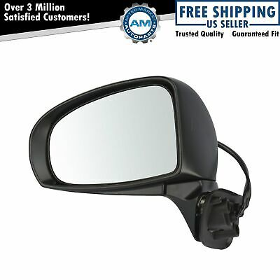 Mirror Power Heated Gloss Black Driver Side Left LH for Toyota Prius Type G & SL