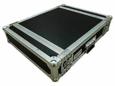 deetech 2 HE Endstufen Flightcase / Amp Rack / Double Door Case, 9 mm