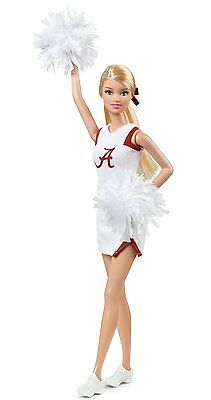Barbie Collector University Of Alabama Crimson Tide *new*