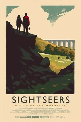 """OLLY MOSS Sightseers 16"""" x 24"""" Poster Limited Edition #/ 225 MONDO Hand Numbered"""