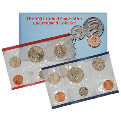 1994 United States Mint Uncirculated Coin Set (U94)