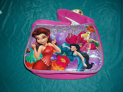 disney vibrant blooms lunch bag tinker bell NWT