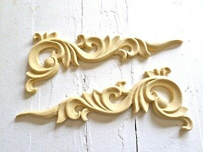 Architectural Carved Corners Furniture Appliques-Wood &resin-Flexible-Paintable