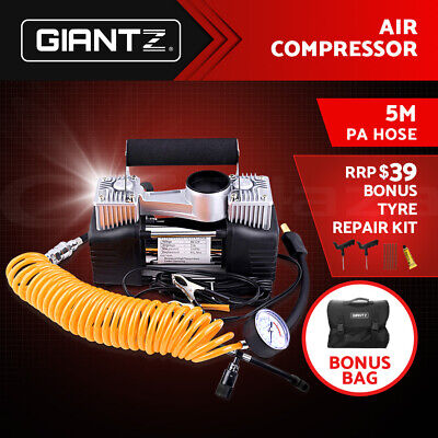 Giantz 12v Car Air Compressor 4x4 Tyre Deflator 4wd Inflator Portable 85L/min