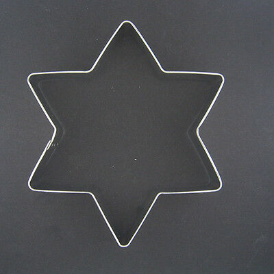 """Star Of David Magen 5"""" Metal Cookie Cutter Holidays Birthday Party Christmas New"""