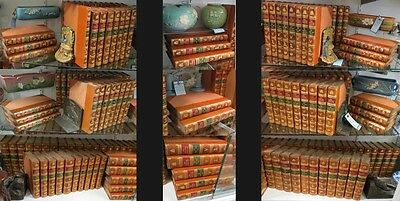 Leather Bd Sporting Magazine Antique Books 157 Vol 1792-1870 Gilbey Personal Set