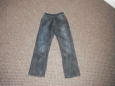 "Denim Co Straight Jeans Waist 24"" Leg 25"" Faded Dark Blue boys 10/11 Yrs Jeans"
