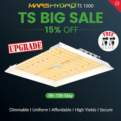 Mars Reflector 600W Hydro Led Grow Light Full Spectrum Indoor Plant Veg Flower