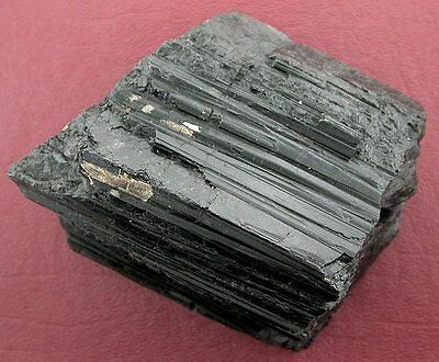 Large Black Tourmaline Crystal Specimen Gemstone #2