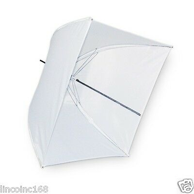 《US Seller》Photography Studio Strobe Flash Light Soft Translucent White Umbrella