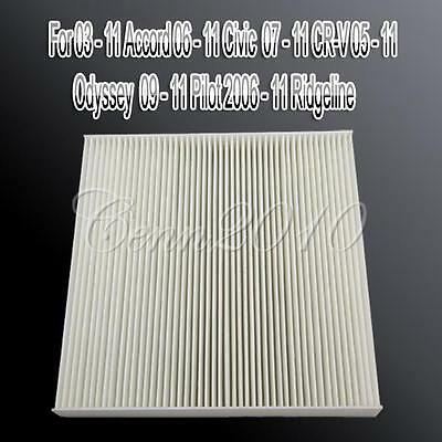 2x Cabin Air Filter Replacement for Honda Accord 03-11 Civic 06-11 Hybrid 05-11