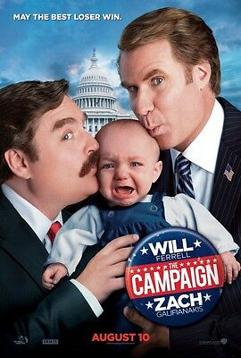 Campaign - original DS movie poster 27x40 D/S Style B
