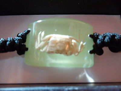 Crab GLOWING Adjustable Bracelet New In Box BL05G10