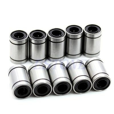 10pcs 8 mm LM8UU Linear Motion Bush Bushing Ball Bear Bearing LM Series