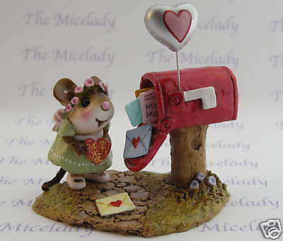 CUPID'S SPECIAL DELIVERY by Wee Forest Folk, WFF# M-383a