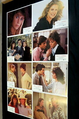 """rich And Famous"" Jacqueline Bisset Candice Bergen Mint Lobby Card Set 11 X 14"
