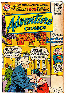Adventure Comics #228 3.5 Tan To Cream Pages Silver Age Superboy