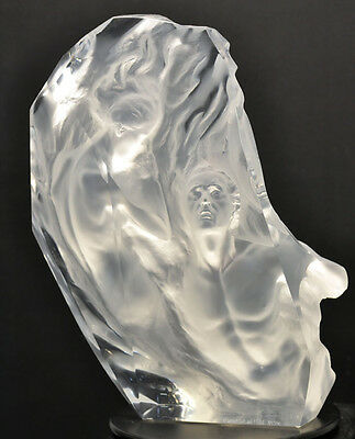 "Frederick Hart ""Ex Nihilo"" Working Model Fragment (Acrylic) Lucite Hand Signed"