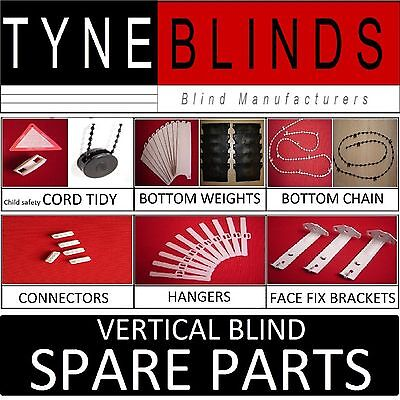 SPARE PARTS For Vertical blinds & headrails - Weights Chain Hanger Brackets