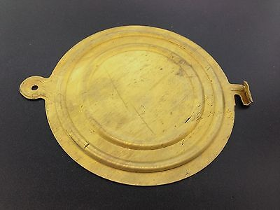 New Reproduction Solid Brass Back Plate for the Antique Ansonia Clocks