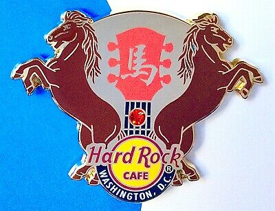 2014 Hard Rock Cafe Washington Dc Chinese New Year Of The Horse Le Pin