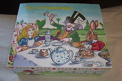 Paul Cardew Set of Allice in Wonderland's 10 Fl Oz Coffee Mug, Tea Cup-NEW+BOX