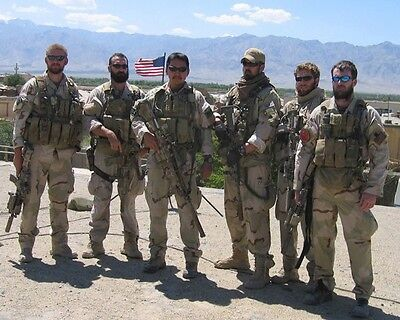 Operation Red Wings Navy Seals Marcus Luttrell 8X10 Photo Navy Survivor